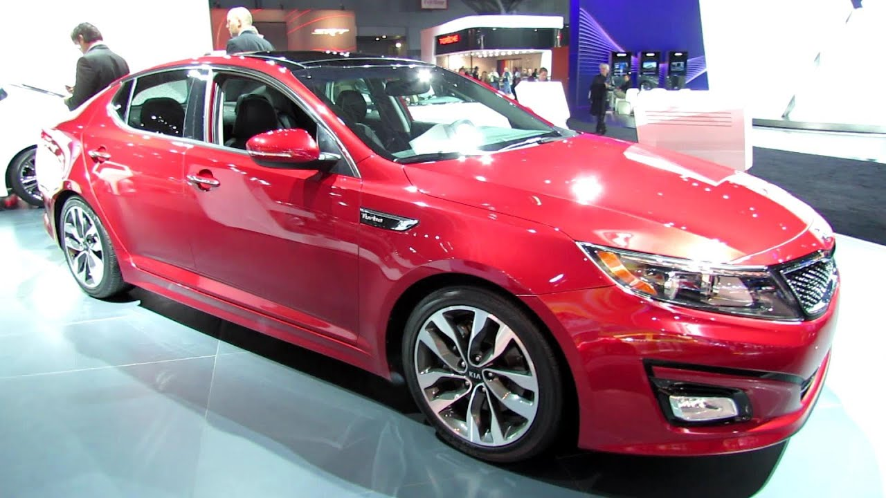2014 KIA Optima SX T-GDI - Exterior and Interior Walkaround - 2013 ...