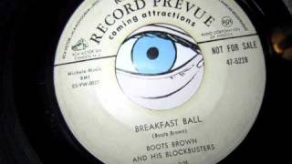 Boots Brown and his Blockbusters - Breakfast Ball