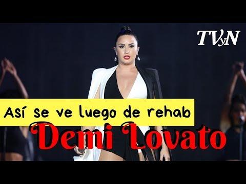 Demi Lovato Reaparece Tras Sobredosis, ¡así Luce!