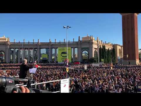 3 Dec 2017-10000 musicians claim for freedom of the Catalan Political prisoners in Spanish prisons