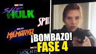 ¡BOMBAZO! Marvel anuncia todas sus nuevas películas en Disney D23