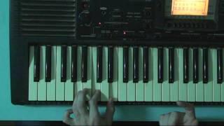 Неправильное нажатие аккордов на синтезаторе