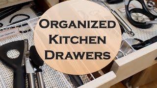 No-Fail Kitchen Drawer Organization! Dollar Tree