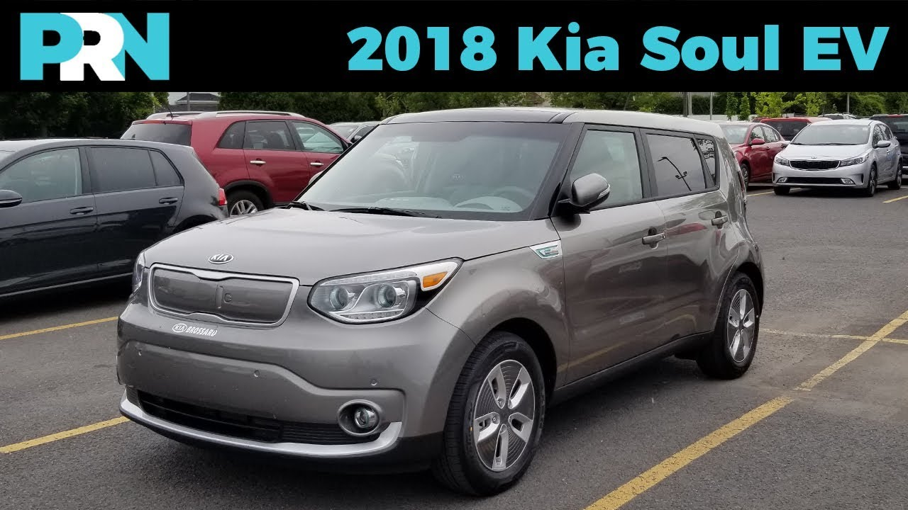 Electric Soul 2018 Kia Ev Testdrive Snapshot