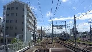 【車窓】JR東日本篠ノ井線 松本駅~田沢駅間 (2017/8/17)