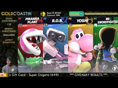 Smash Bros Ultimate Stream! (2.14.19) [Happy V-Day!]  //  Streaming With GoldCoastin!