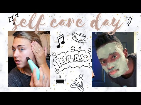 at-home-self-care-day-for-him-+-her-(couples)!!!!-(kinda-fail-lol)