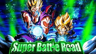 LR GOHAN & GOTEN VS. HYBRID SAIYAN CATEGORY SUPER BATTLE ROAD! (DBZ: Dokkan Battle)