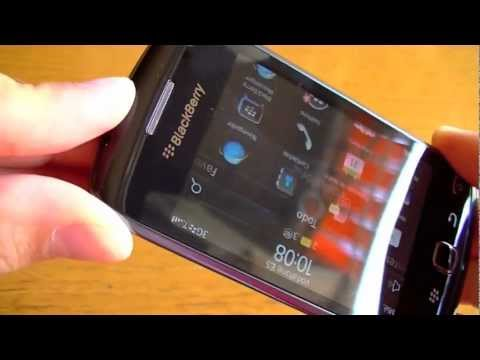 Blackberry Curve 9380 review: Vistazo General y Sistema Operativo