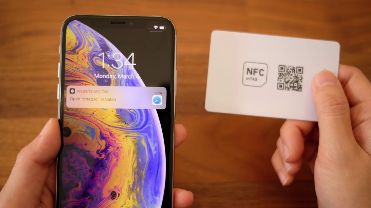How to Scan NFC Tags or QR Codes