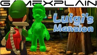 Meeting Gooigi in Luigi's Mansion 3DS Cutscene! + A Peek into E. Gadd's Future