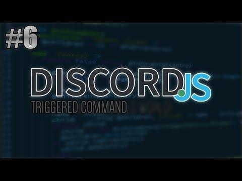 [Discord.JS] Triggered Command (CuteAPI)   Episode 6