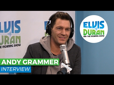 Andy Grammer Chats About 'Fresh Eyes' + Music Video | Elvis Duran Show
