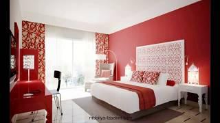 Kırmızı Yatak Odası Tasarımları