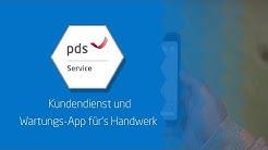 Kundendienst und Wartungs-App für's Handwerk | pds Service