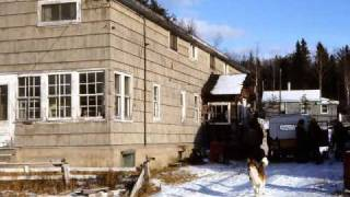 Gold Town Ghost Town Goudreau Ontario on Algoma Central Railway CANADA