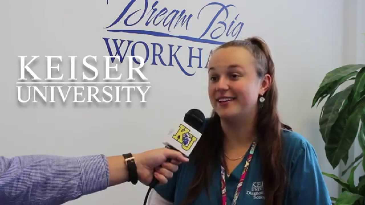 Keiser University Student talks about Diagnostic Medical ...