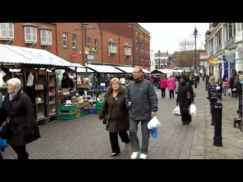 Shopping Centre and Market, Walsall.
