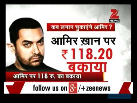 Actor Aamir Khan, family owe Rs.817.95 as land rent