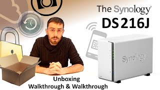 The Synology DS216J Budget NAS Unboxing, Walkthrough and Talkthrough with SPAN.COM