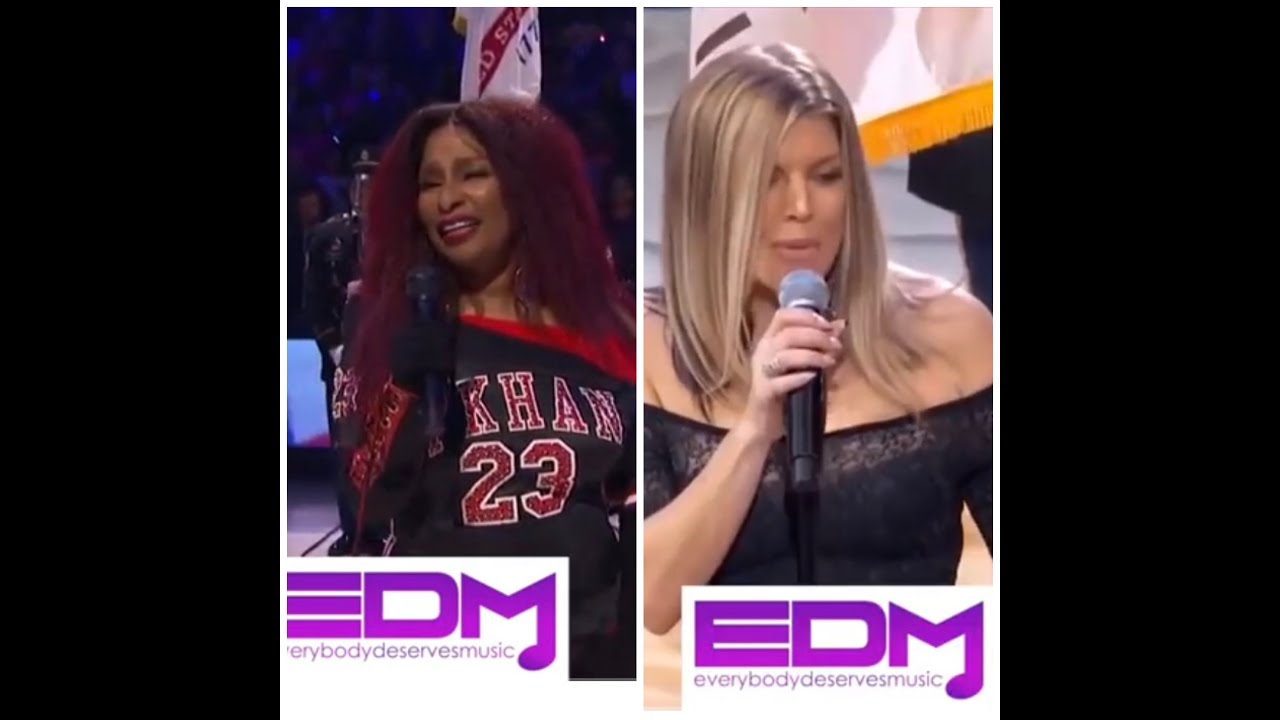 Fergie and Chaka Khan Duet! Happy 4th of July!