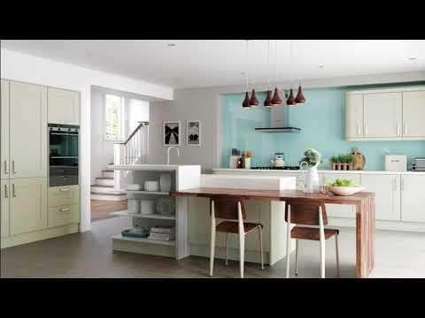 Breakfast Bar Ideas for Small Kitchens -- Modern Kitchen Design
