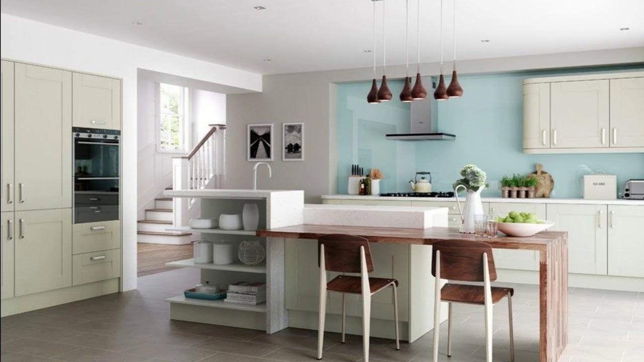 Breakfast Bar Ideas For Small Kitchens Modern Kitchen Design Youtube