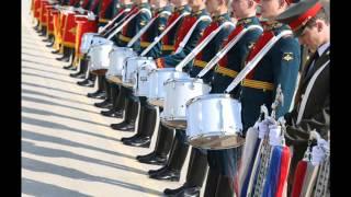 видео: Русский военный марш на малом барабане