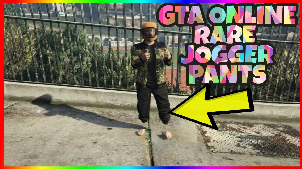 How to get the Jogger pants in GTA ONLINE (Glitch) || 100% working for ps4/Xbox 1/PC [patch 1.41]