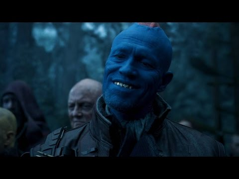 'Guardians of the Galaxy' star on acting with CGI characters
