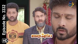 Abhishekam | 19th September 2019  | Full Episode No 3332 | ETV Telugu