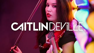 Hey DJ (CNCO & Yandel) - Electric Violin Cover | Caitlin De Ville