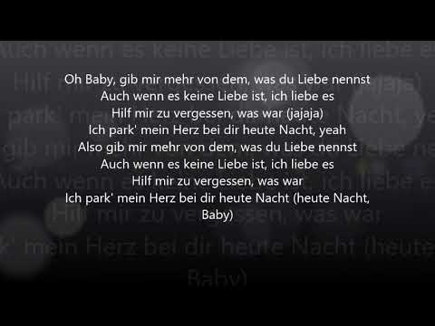 Bausa Was Du Liebe Nennst Official Lyrics Youtube