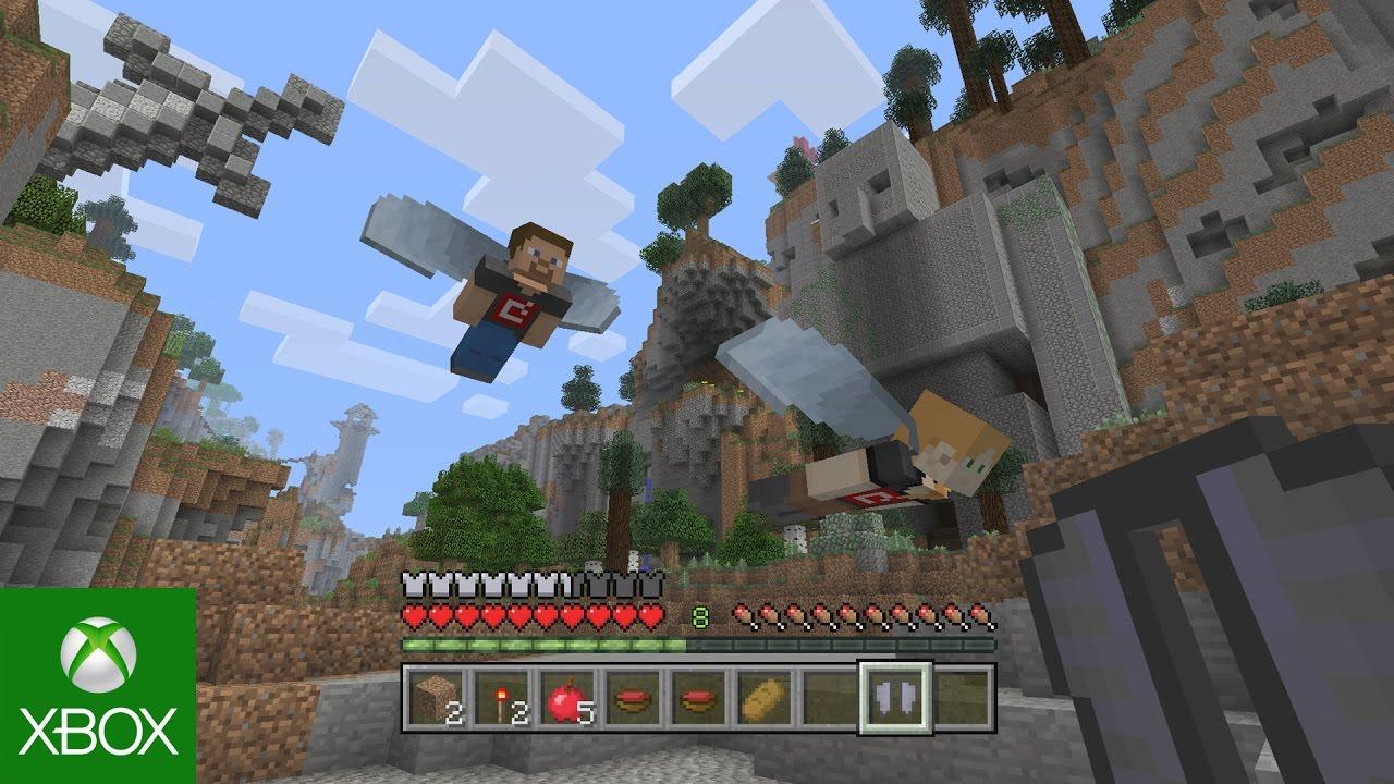 Minecraft console edition holiday update funnydog tv
