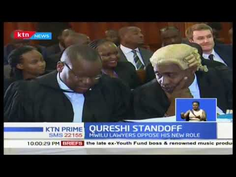 Five judge bench set to determine if London based lawyer Qureshi will represent DPP in Mwilu\'\'s case