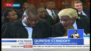 Five judge bench set to determine if London based lawyer Qureshi will represent DPP in Mwilu''s case