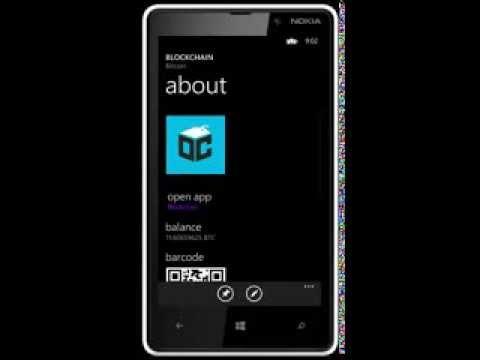 Blockchain for Windows Phone (speed run)