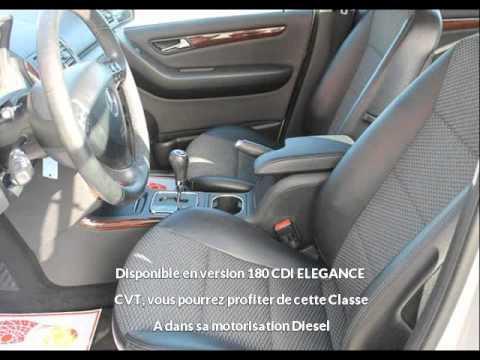 mercedes classe a 180 cdi elegance cvt vendre la teste de buch chez vpn autos youtube. Black Bedroom Furniture Sets. Home Design Ideas