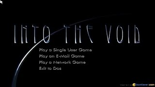 Into the Void gameplay (PC Game, 1997)