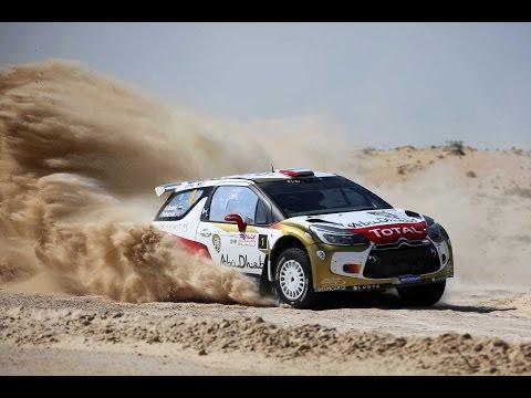 Watch the best of Abu Dhabi Rally with Sheikh Khalid bin Faisal Al Qassimi