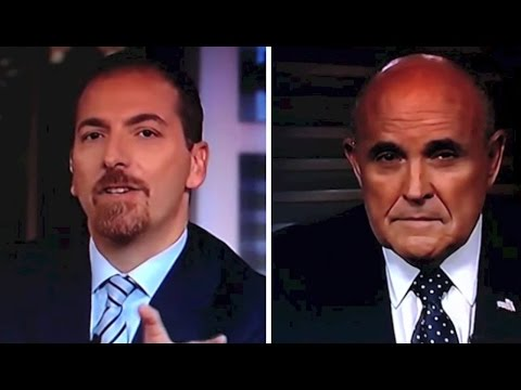 Chuck Todd Gets Rudy Giuliani To Defend Hillary Clinton, Reverse Everything He