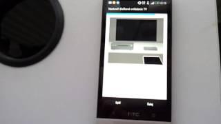 Nastavenie HTC One ako diaľkový ovládač na TV