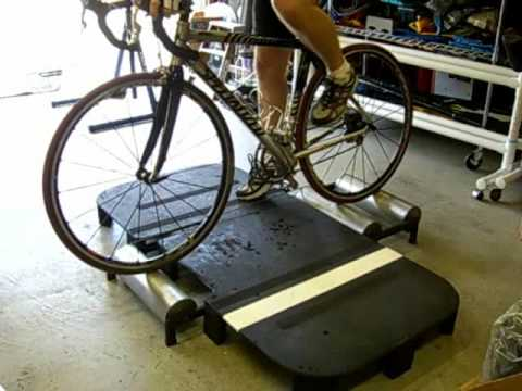 Bicycle Rollers A Plywood Platform For Training On Them
