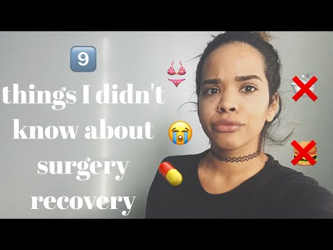 Things Didnt Know About Surgery Recovery
