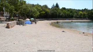 C site Slamni Klimno island Krk Croatia