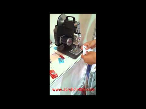 Automatic Eyelet Machine