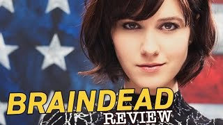 Elizabeth Winstead​, Danny Pino​, Tony Shalhoub​ in Braindead - ​TV Review