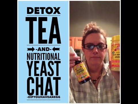 Weight Watchers Facebook Live Chat - Detox Teas followed by Nutritional Yeast hub bub!