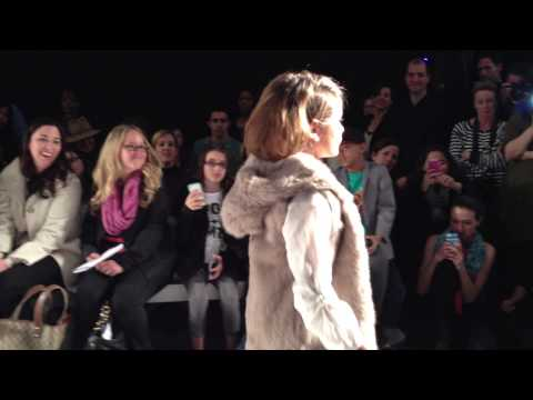 Seanna at Vogue Bambini Fashion Show for Pale Cloud March 10, 2013