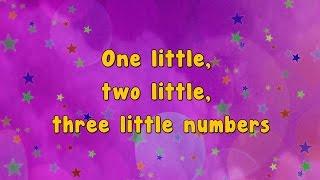 Karaoke - Numbers Song | Ten Little Numbers | Karaoke Rhymes